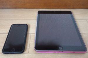 iphoneとipadの比較