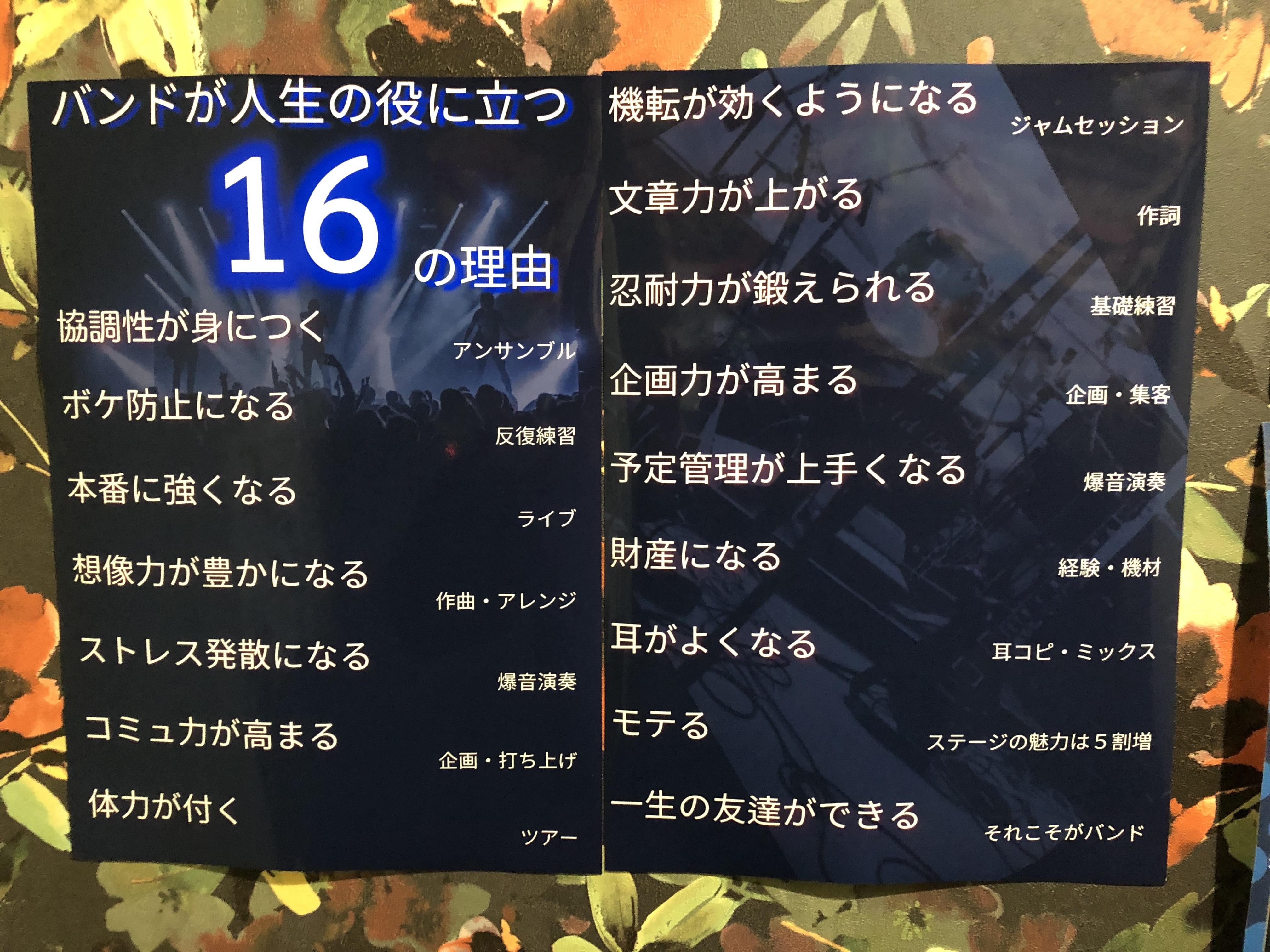 16の理由